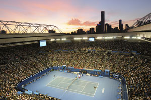 Australian Open tennis at Rod Laver Arena