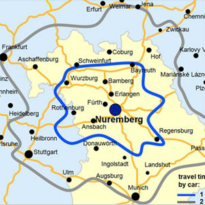 Nuremberg Airport NUE Unserved Routes in the Route Shop