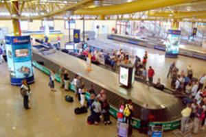 Faro Airport baggage collection