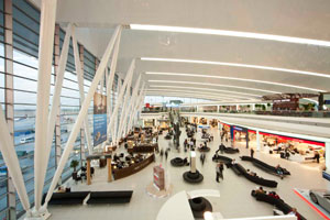 Budapest Airport's SkyCourt