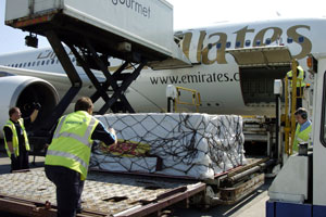 Glasgow Airport freight