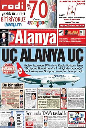 Antalya press clipping