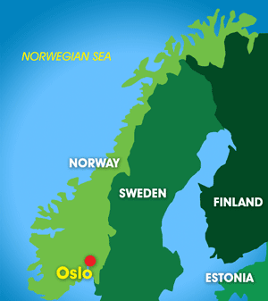 Oslo Catchment map