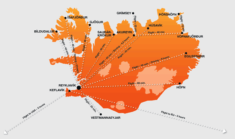Keflavík International Airport (KEF) | Unserved Routes in the Route on lirr route map, conrail route map, world airline route map, path route map, hudson route map, staten island ferry route map, iran air route map,